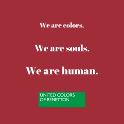 4 We are colors